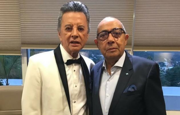 Palito Ortega, junto a Mario Pereyra.