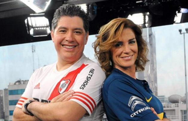 Guillermo Lobo y Débora Pérez Volpin.