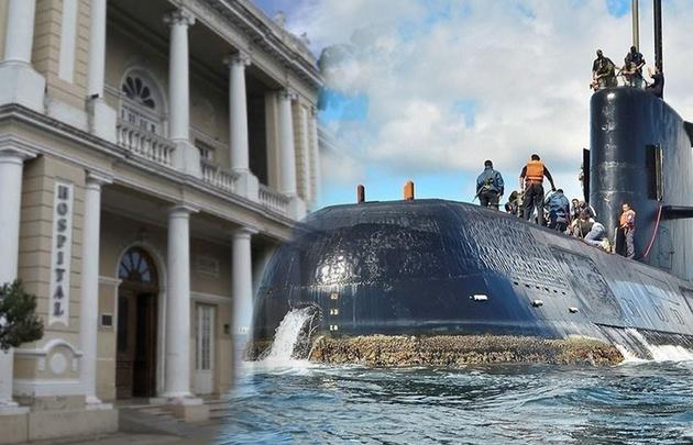 Las pequeñas son hijas de un tripulante del submarino (Foto ilustrativa)