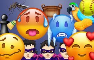Emojis 2018.