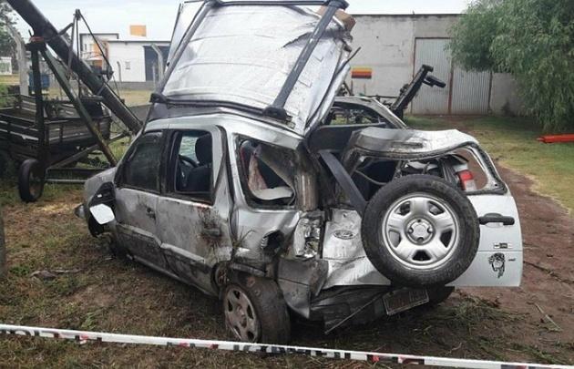 Accidente fatal en Morteros, Córdoba.