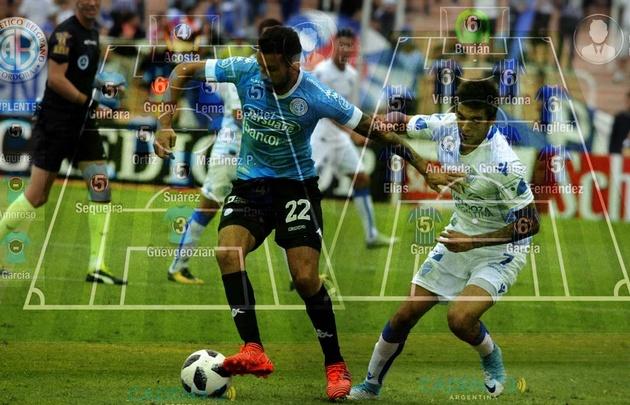 Belgrano tropezó en el inexpugnable terreno de Godoy Cruz.