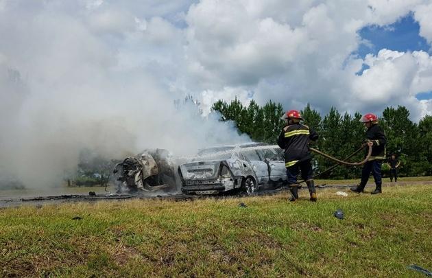 Hay dos niños entre los fallecidos por el accidente en Fachinal.