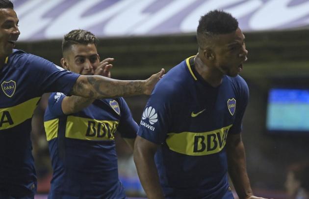 Fabra anotó el gol del triunfo de Boca.