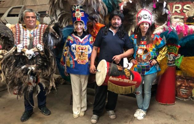 Cadena 3 en la Comparsa de los Incas