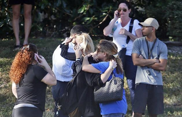 El tiroteo dejó 17 muertos y varios heridos.