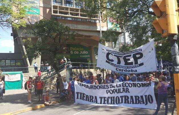 ATE encabezó este jueves una jornada de protesta a nivel nacional.
