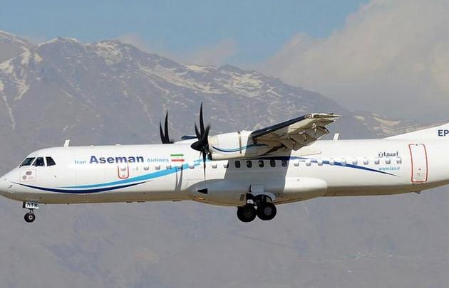 El avión de Aseman cayó tras despegar de Teherán con 66 personas.