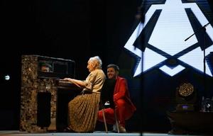 Axel, maravillado ante el talento de Perla de 91 años en el piano (Parque La Pedrera)
