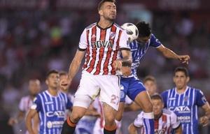 Pratto marcó su primer gol con la camiseta del ''Millo''.