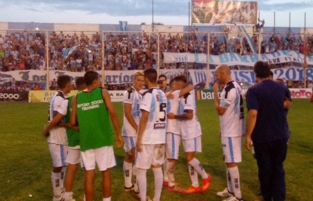Racing de Córdoba avanzó en la Copa Argentina (Foto: @ClubARacing)