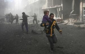 La guerra en Siria sigue generando dolor en ese país.