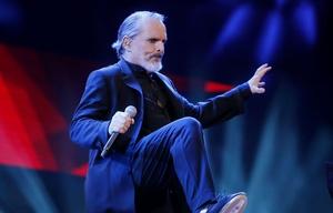 Miguel Bosé, el músico que más veces actuó en la Quinta Vergara (Foto: Agencia Uno).