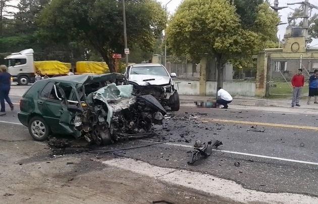 Accidente fatal en Malagueño.