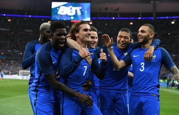 Con un abanico de estrellas, Francia va por la Copa del Mundo.
