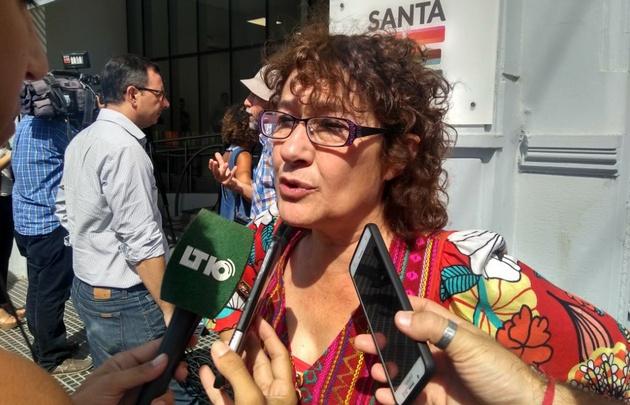 Sonia Alesso, secretaria general de CTERA.