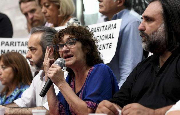 Sonia Alesso, secretaria general de Amsafé y Ctera.