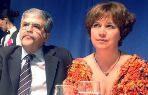 Alessandra Minnicelli, esposa de Julio de Vido, fue detenida.