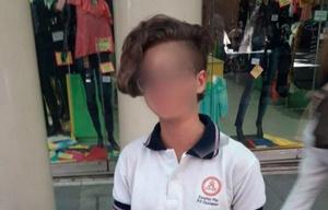 El corte de pelo que desató la polémica.