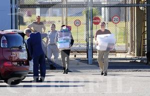 Cristóbal López salió de la cárcel (Foto de Marcelo Aballay)