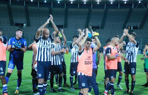 El equipo se fue ovacionado del Mario Alberto Kempes.