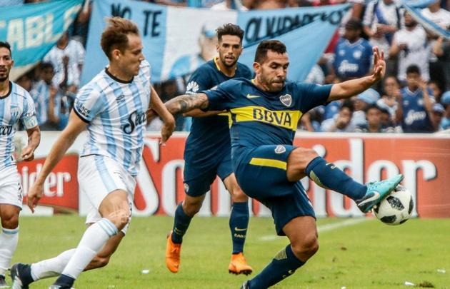 Boca y Atlético no se sacaron ventajas.