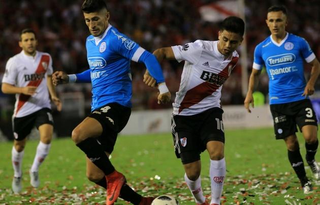 River celebró el título de la Supercopa con una victoria ante Belgrano.