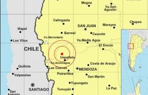 Susto por un fuerte sismo en Cuyo.
