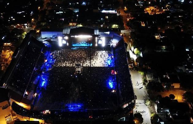 Phil Collins brindó un inolvidable show en Alta Córdoba.