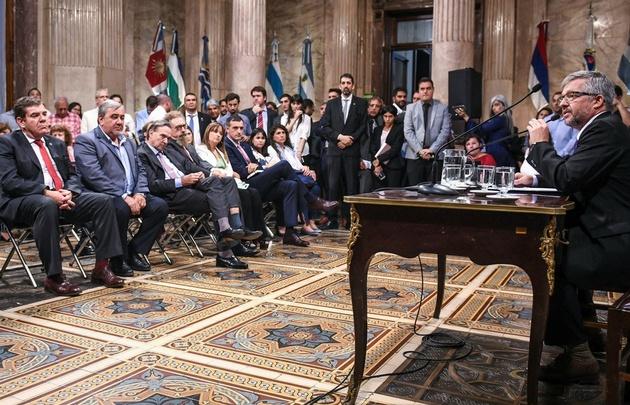 El senador del PJ fueguino, Jossé Ojeda, fue designado al frente del cuerpo.