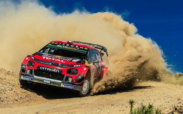 FOTO: Todos los aplausos para Ott Tänak, líder del Rally de Portugal