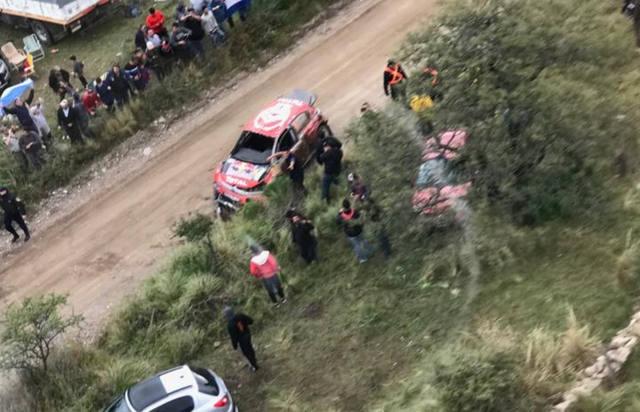 FOTO: El impactante video del dramático vuelco que sufrió Lappi