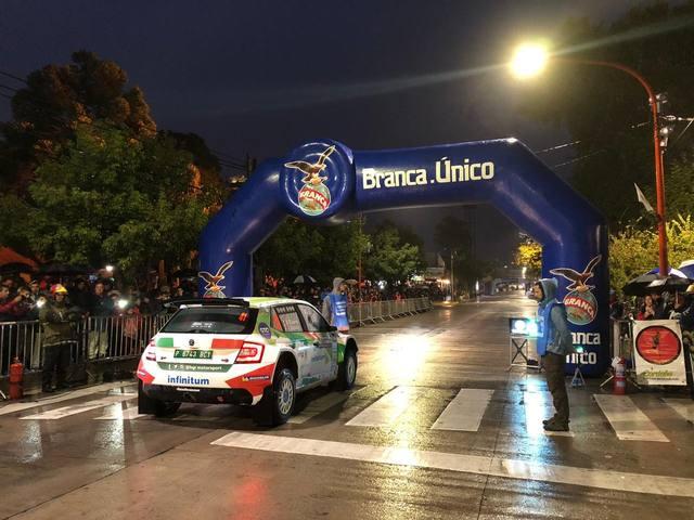 FOTO: Tänak, el más veloz en el arranque del Rally de Argentina