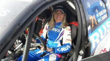 AUDIO: Nadia Cutro, la única piloto del Rally Argentina 2019