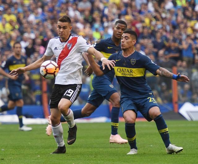 FOTO: Apasionante empate entre Boca y River: definición abierta