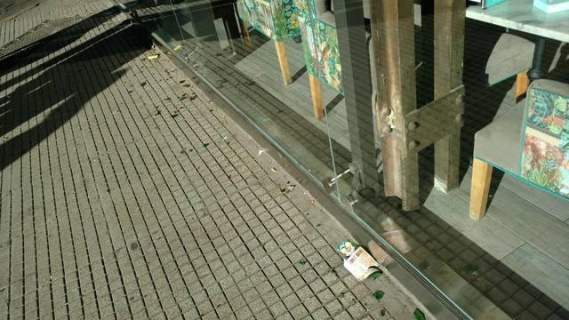 FOTO: Pintadas y daños: así amaneció el Obelisco tras el festejo