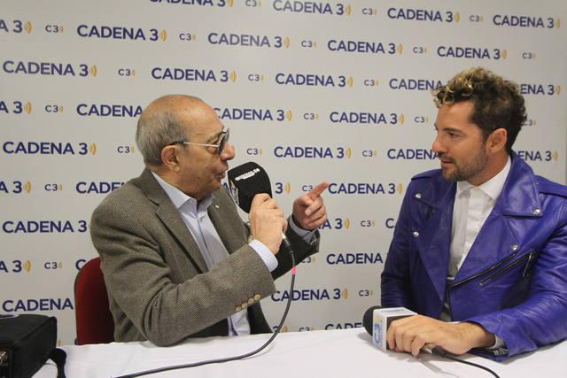 AUDIO: David Bisbal y Luciano Pereyra, felices de cantar en Córdoba