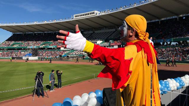 FOTO: Piñón Fijo llevó su magia al Kempes