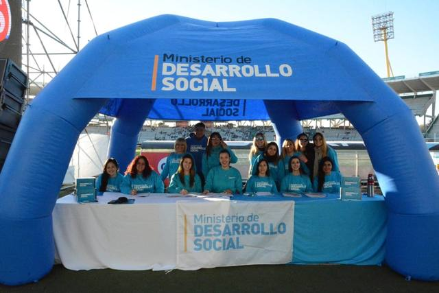 FOTO: La fiesta del Ministerio de Desarrollo Social