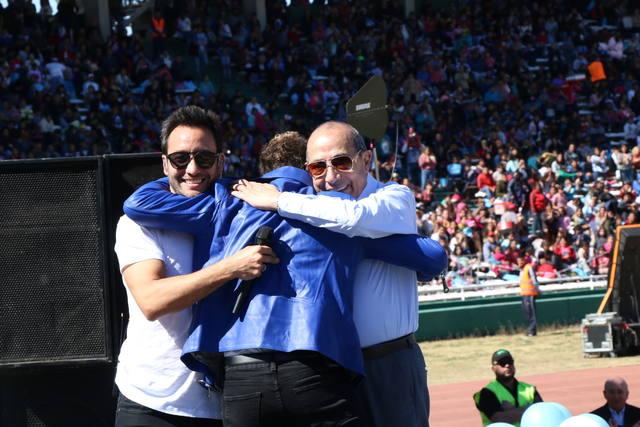 FOTO: Una multitud disfrutó de Luciano Pereyra y David Bisbal.