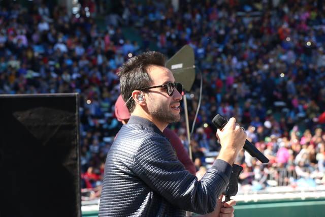 FOTO: Una multitud disfrutó del show de David Bisbal.