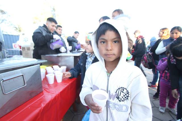 FOTO: Una multitud en el Kempes para celebrar el Día del Niño