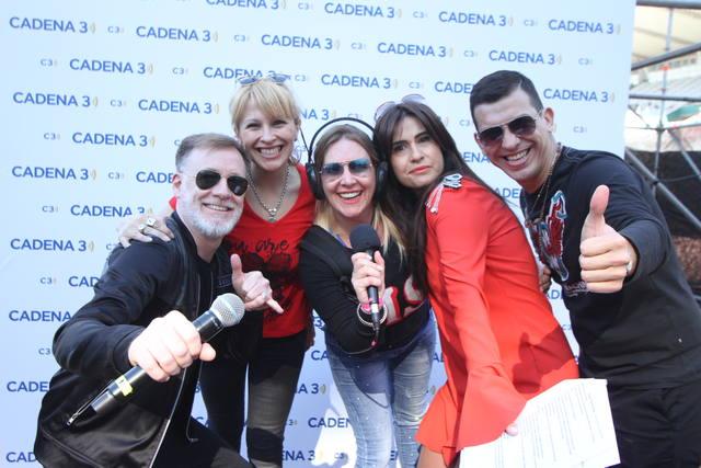 FOTO: Mario Pereyra y la familia de Juntos en el Kempes