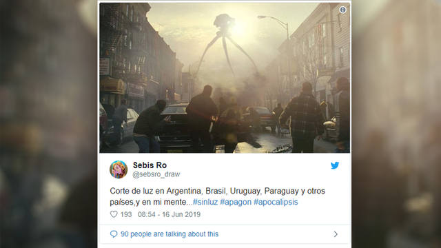 FOTO: Los memes coparon las redes sociales con el apagón