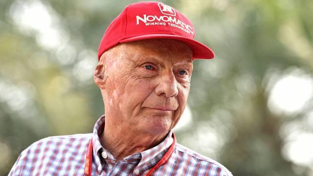 FOTO: Niki Lauda, uno de los grandes pilotos de todos los tiempos.