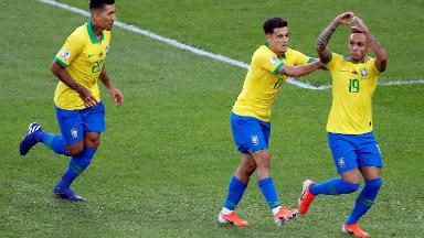 AUDIO: 1º Gol de Brasil (Everton)