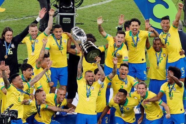 FOTO: Los brasileños ganaron por novena vez el título continental.