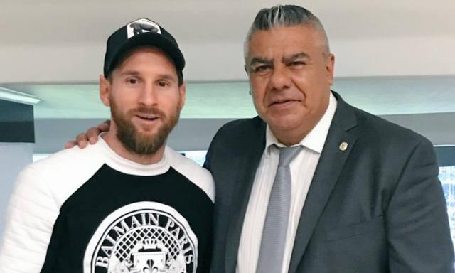 FOTO: Tapia respaldó a Messi y dijo furioso: