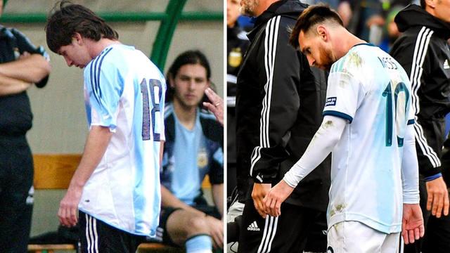 FOTO: Las únicas dos veces que Messi fue expulsado en su carrera