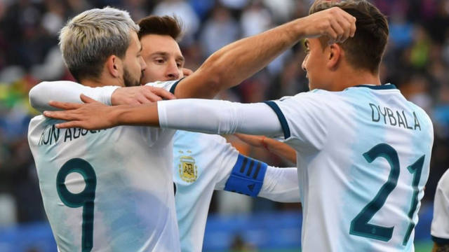 FOTO: Argentina derrotó a Chile y se subió al podio del torneo